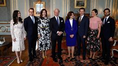 Official visit of Denmark's Crown Prince Couple.  Stockholm, Sweden, 30 May 2017.    The Danish Crown Prince Couple with the Swedish Royal Family.    Photo: IBL    (via lovingtheroyals)