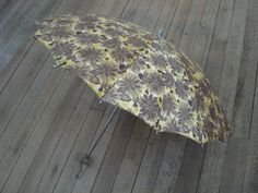 Vintage 1960s Umbrella Parasol with Lucite Handle by bycinbyhand, $55.00