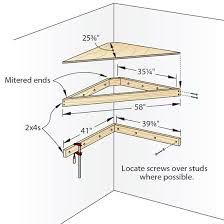 Corner tv shelf plans Discover Pins about corner tv shelves on .