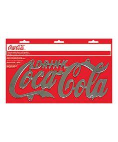 Coca-Cola License Plate