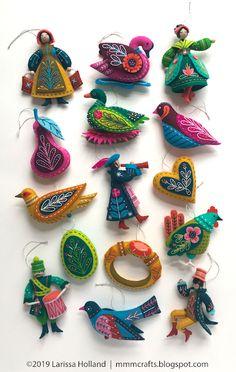 Twelve Days Of Christmas Ornaments.143 Best Twelve Days Ornaments Images In 2019 Twelve Days