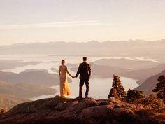 A Breathtaking Vintage Wedding On Vancouver Island | Weddingbells