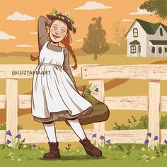Anne with an e art Gilbert And Anne, Anne White, Anne With An E, Famous Novels, Arte Sketchbook, Anne Shirley, Chronicles Of Narnia, Hallmark Movies, Beautiful Stories
