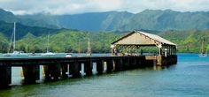 I jumped off this pier in Kauai, Hawaii.