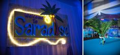 5 Ways Your Name Can Inspire Your Bar & Bat Mitzvah Theme - Paradise Party Ideas for Sara {Alison Frank Photography, Party Perfect} - mazelmoments.com