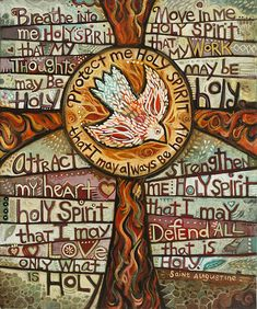 Holy Spirit Prayer- love this for a Confirmation gift