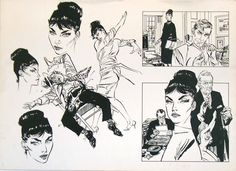 Modesty Blaise by Jim Holdoway