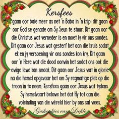 Kersfees Christmas Scripture, Christmas Words, Christmas Messages, Christmas Quotes, Christmas 2017, All Things Christmas, Christmas Time, Xmas, Christmas Greetings