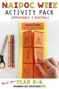 This NAIDOC Week pack is designed to encourage students to think about the message of NAIDOC Week and to recognise the contributions of Indigenous Australians to our country. Included are 13 activities suitable for students in Year 5 - 6.