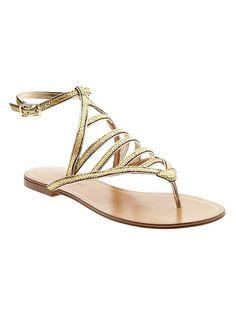 Rhone Metallic Sandal