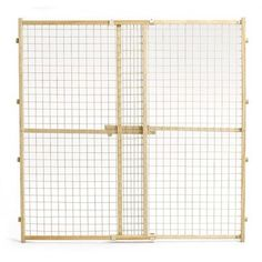 Midwest Homes For Pets Wood Gate with Wire Mesh
