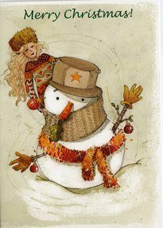 Carte de voeux: Joyeux Noël!