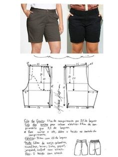 Hot pants pattern Shorts navy military button front retro vThis Pin was discovered by KerSh ort com botão Simplicity Sewing Patterns, Pdf Sewing Patterns, Clothing Patterns, Dress Patterns, Paper Clothes, Sewing Clothes, Diy Clothes, Sewing Shorts, Diy Shorts