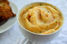 receita de purê de batatas com cenoura super cremoso
