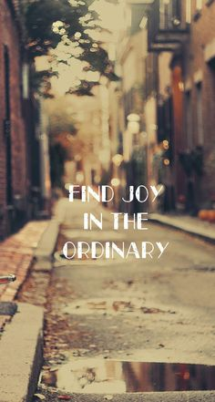 Joy In Ordinary - Typography iPhone wallpapers @mobile9