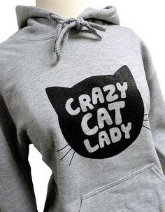 Kapucnis Örült macskás hölgy...