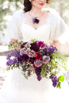 Game of Thrones Wedding Inspiration - beautiful purple bouquet Lilac Wedding, Purple Wedding Flowers, Bridal Flowers, Flower Bouquet Wedding, Floral Wedding, Dream Wedding, Pink Bouquet, Wedding Stuff, Berry Wedding