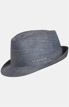 Stetson Linen Fedora. Contact The Dashing Man to complete this look!