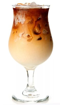 Sweetened condensed milks adds luxurious richness to freshly brewed, chilled coffee in this refreshing pick-me-up.