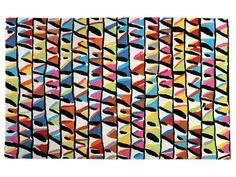 Tapete feito à mão retangular de lã para crianças PATTAYA by The Rug Republic