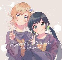 Honey Works, I Icon, Pokemon, Japan, Artist, Anime Girls, Couple, Friends, Metal