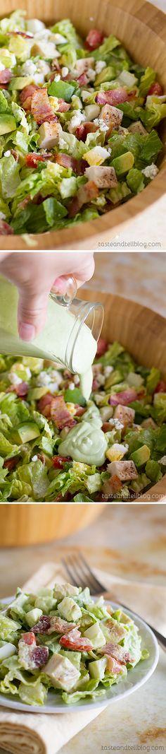 Chopped Cobb Salad @deborahharroun