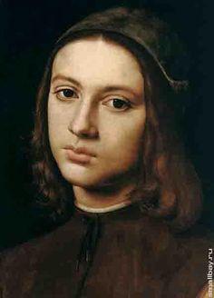 Перуджино.Портрет юноши, 1495.