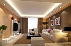 Simple Living Room Lighting