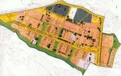 Vauban District Regulating Plan delivered a community-led, car-free, carbon negative urban quarter. Freiburg, Germany.