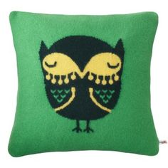Donna WIlson Owl Cushion #donnawilsongiftsforkids