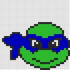Tmnt Perler Bead Pattern | Bead Sprites | Characters Fuse Bead Patterns