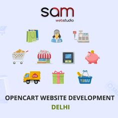 SAM Web Studio offers #Opencart #Website #Development and #Customization services in #Delhi #Gurgaon India at very affordable prices. We have more than 6 year experience in #ecommerce business website development & #designing, thousand of satisfied worldwide clients. If you have any requirement regarding this service or any query, please feel free to contact us +91- 9968-353-570  Please Visit:- http://www.samwebstudio.com/services/ecommerce-solution/opencart-development