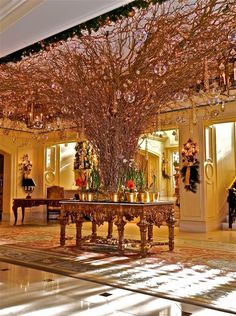 The holiday décor at The Ritz-Carlton, New Orleans transports you to a winter wonderland.