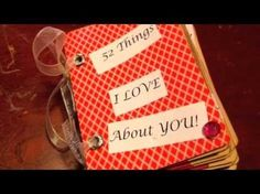 Cute Valentine's ideas for boyfriends: V-Day coupon book for him (gift ideas)