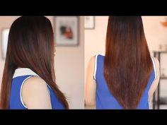 خلطة طبيعية لتنعيم وفرد الشعر الجاف والمجعد - تنعيم الشعر , فرد الشعر , ...