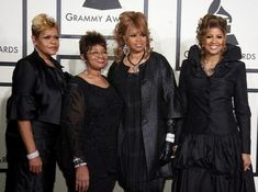 "The Clark Sisters are an American gospel vocal group consisting of four sisters: Jackie Clark-Chisholm, Elbernita ""Twinkie"" Clark-Terrell, Karen Clark-Sheard and Dorinda Clark-Cole. Karen Clark, Christian Music Artists, Missy Elliot, Four Sisters, Queen Latifah, Mary J, Music Icon, Gospel Music, Beautiful Black Women"