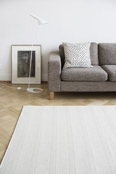 By the way You can order rug with size you like upto 4 meters widht. In picture there is Elo wool rug.