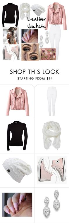 """leather jackets"" by jasmine-stepter on Polyvore featuring Topshop, Altea, Madewell, Bloomingdale's and Sam Edelman"