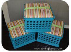 more seat crates!