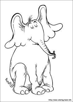 Horton coloring picture