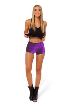 Super Purple Bummers - LIMITED by Black Milk Clothing $45AUD