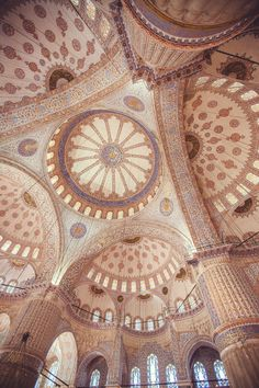 Sultan Ahmed Mosque, built 1609-16