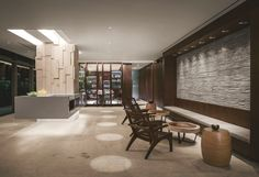 Intimate, luxurious and sleek interior design at the Secrets, The Vine Hotel, Mexico