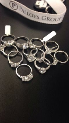 Just a few selections from our beautiful range at Palloys Group! Find yours now at mydreamring.com
