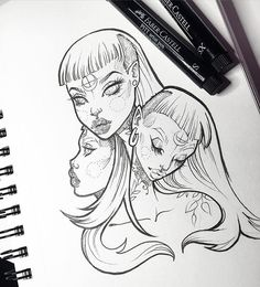 Super random. Doodles keep me sane. ✍ #graphicartery #art #artist #artwork #sketch #drawing #illustration #tattoo #occult #witch #longhair #art_spotlight #art_empire #artcollective #ink #tattoos #artistsoninstagram #artoftheday #myart