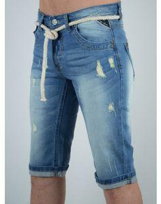 Ανδρικά Ρούχα Men Clothes, Bermuda Shorts, Denim Shorts, Summer, Blue, Women, Fashion, Moda, Summer Time