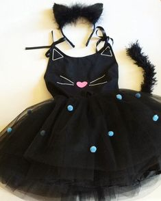 Halloween Kostüm, Halloween Outfits, Halloween Costumes, Kitten Party, Cat Party, Fancy Dress, Dress Up, Carnival Costumes, Halloween Disfraces
