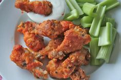 Bake these winning chicken wings for gameday or any day! They are super crunchy without being fried. It's football season, folks! And in my family, every weekend is either spent at a stadium or in ...
