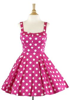 78848adcd00 Ixia Women s Polka Dot Fold Over Pinup Dress Pin Up Dresses