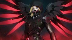 Blackwatch Mercy by AnimatedAnarchist